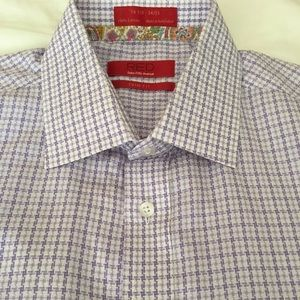 SAKS FIFTH AVENUE RED TRIM fit 16.5 34-35